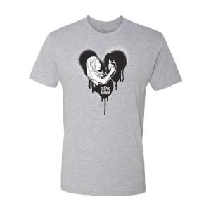 Marvel's Cloak & Dagger Grafitti Heart T-Shirt