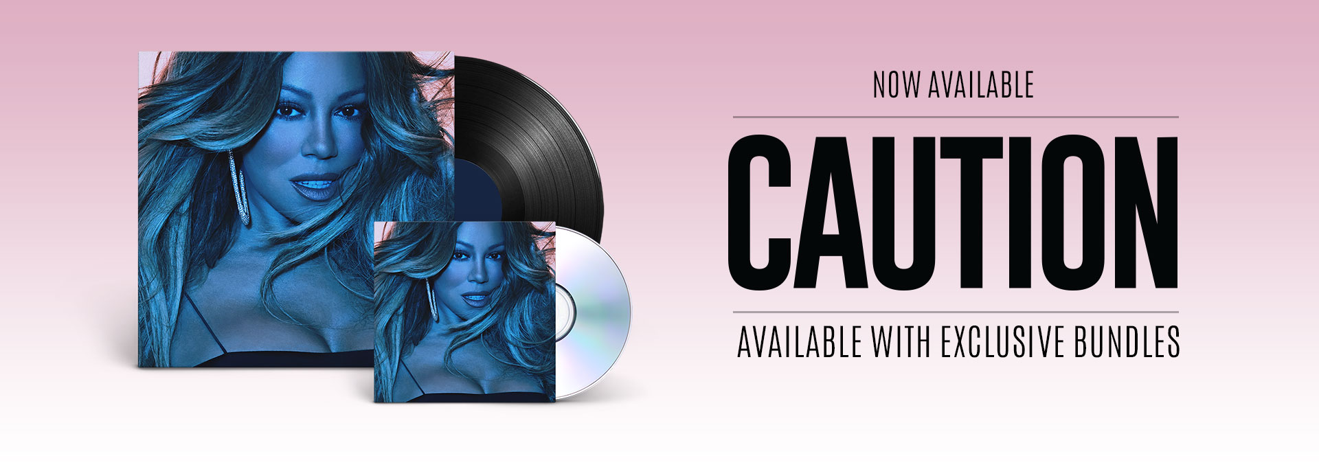 Shop the New Mariah Carey Album, Caution, Available Now!