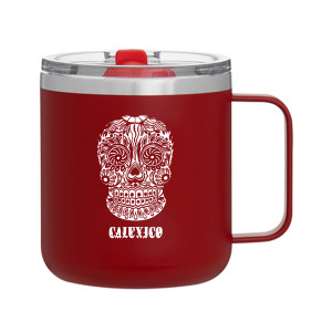 Calexico Happy Skull Camp Mug