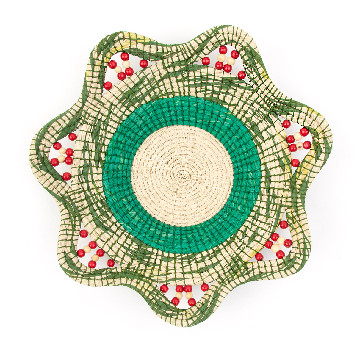 Center for Amazon Community Ecology -- Peru: Assorted Basket Green Multi