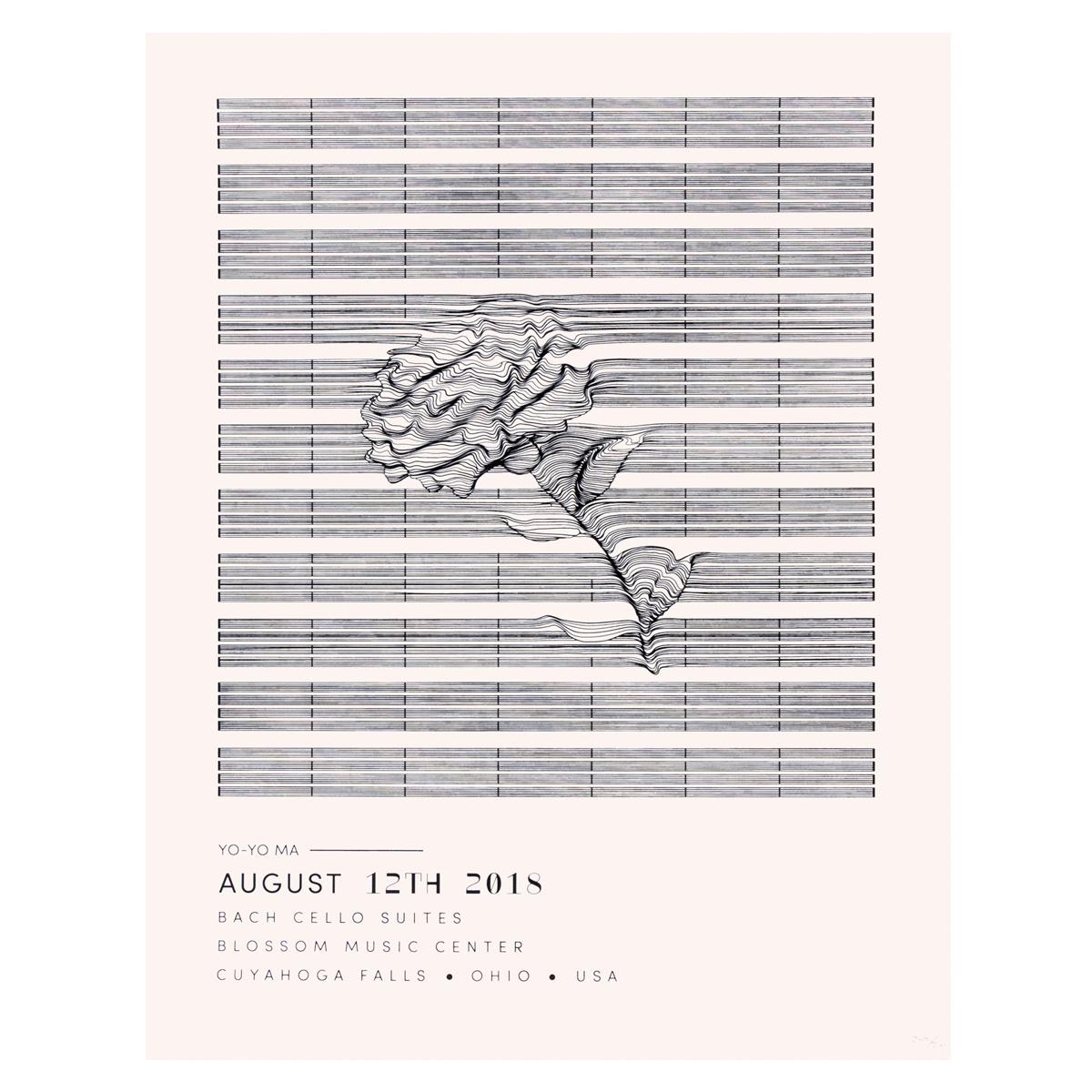 Blossom Music Center 2018 Poster