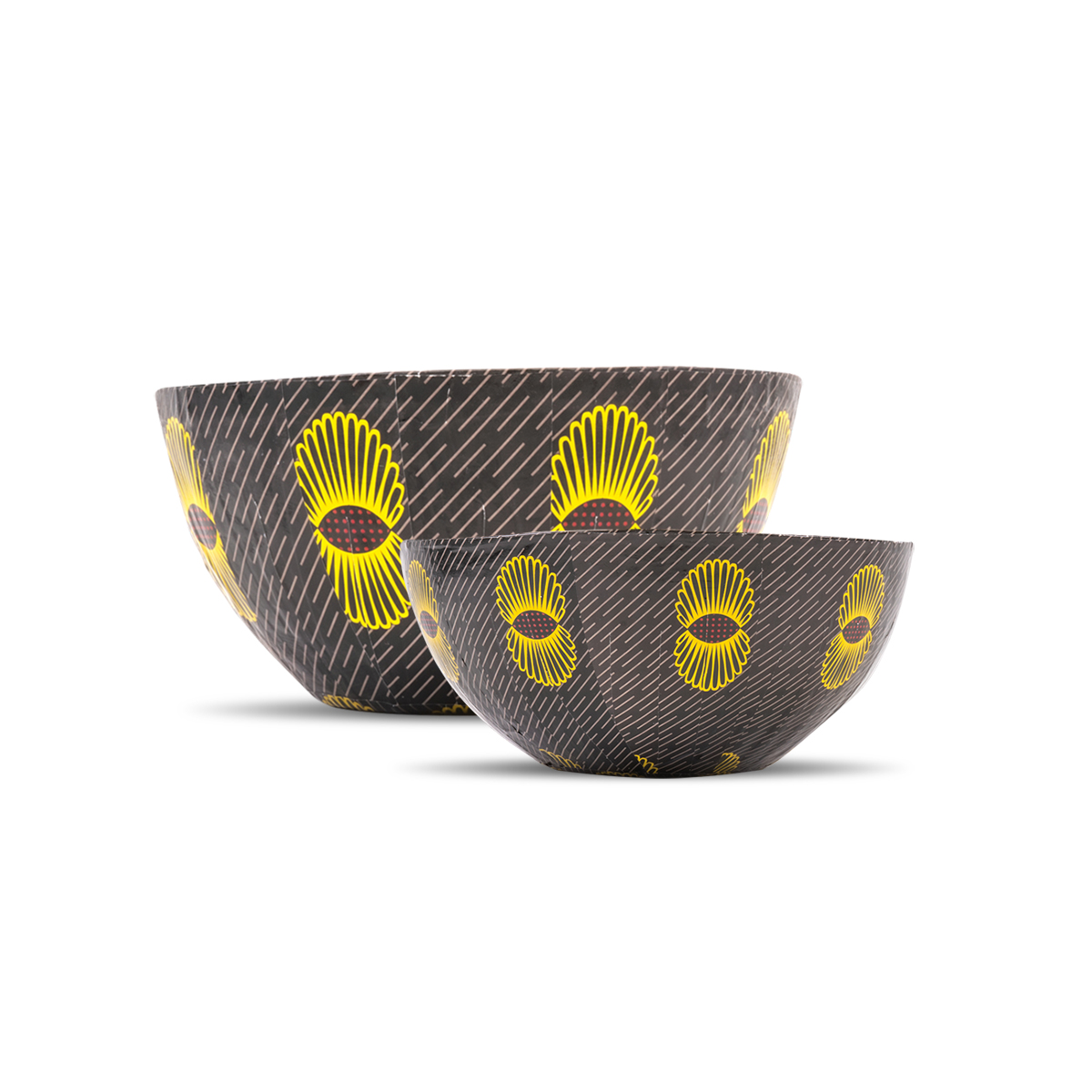 Wola Nani, South Africa: Nesting Paper Maché Bowls – Pineapples