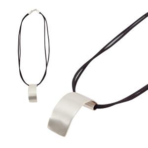 Allpa -- Peru: Silver Necklace