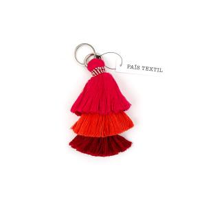 Pais Textil -- Peru: Ande Keychain