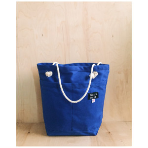 Eighth Belle: Cobalt Skipper Tote