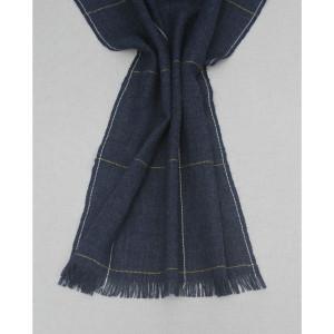 Pais Textil -- Peru: Alpaca Scarf - Indigo Blue