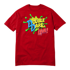 Youth Double Dare Live Tour T-Shirt - Red