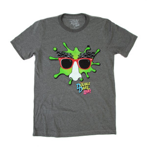 Double Dare Live Tee - Dark Heather Grey