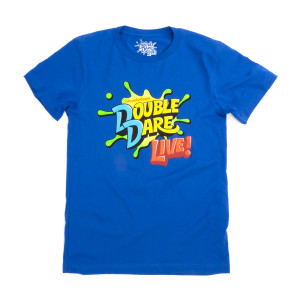 Double Dare Live 2019 Splat Tee - Blue