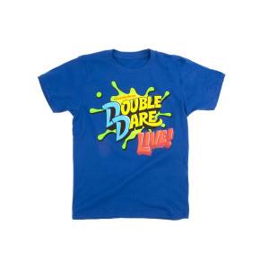 Youth Double Dare Live 2019 Splat Tee - Blue