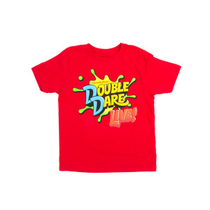 Youth Double Dare Live 2019 Splat Tee - Red