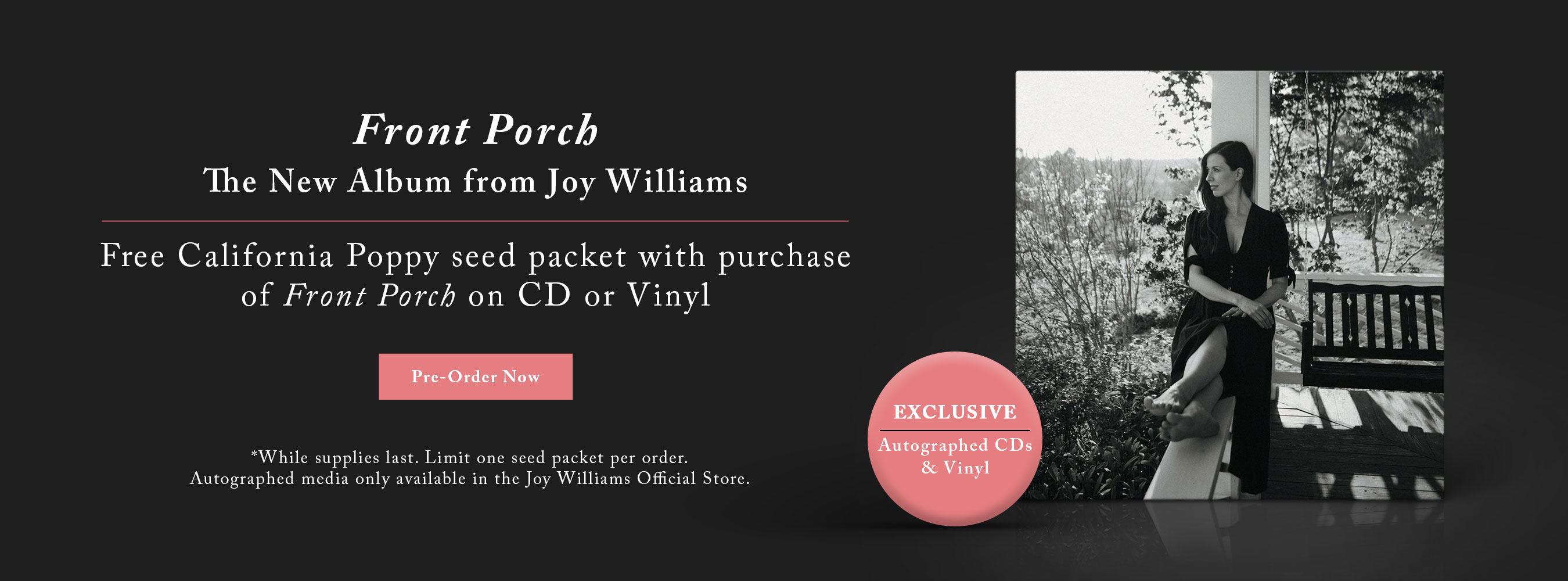 Pre-Order Front Porch Today