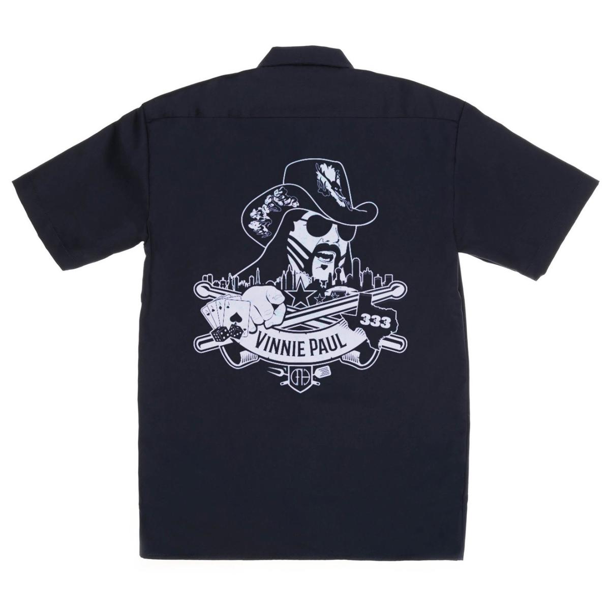 Vinnie Paul Logo Workshirt