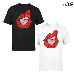 Kodie Shane Young HeartThrob Download + Lips Logo Tee