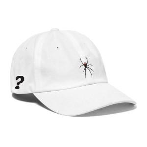 WHIMY White Black Widow Dad Hat