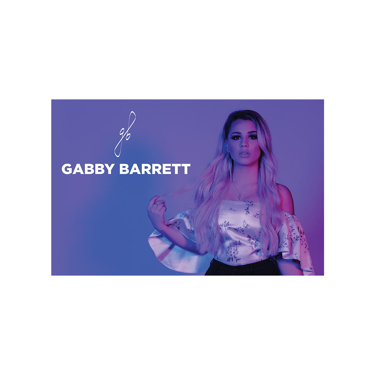 Gabby Barrett Photo Print
