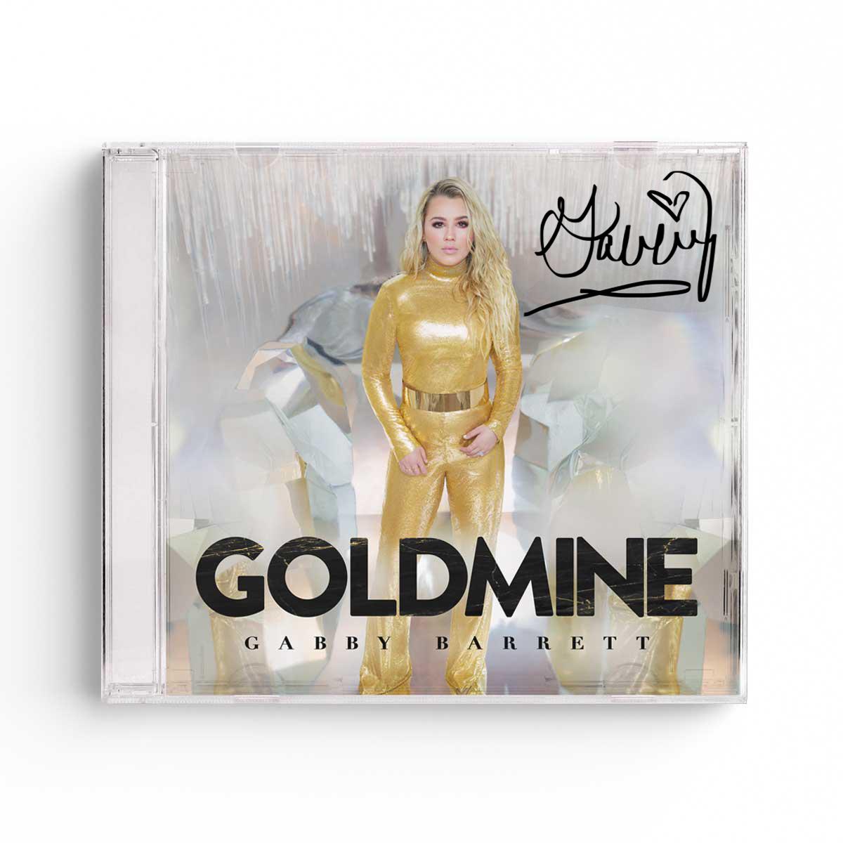 Goldmine Signed CD