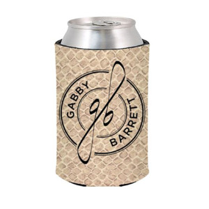 Gabby Barrett Snakeskin Can Cooler