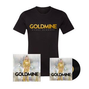 Goldmine T-Shirt, Poster, Vinyl Bundle