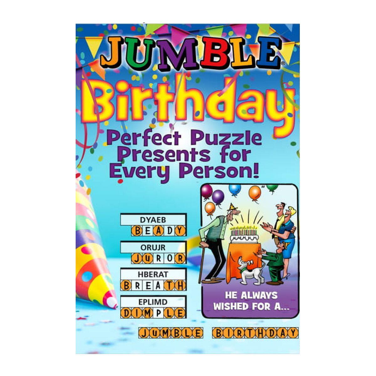 Jumble Birthday