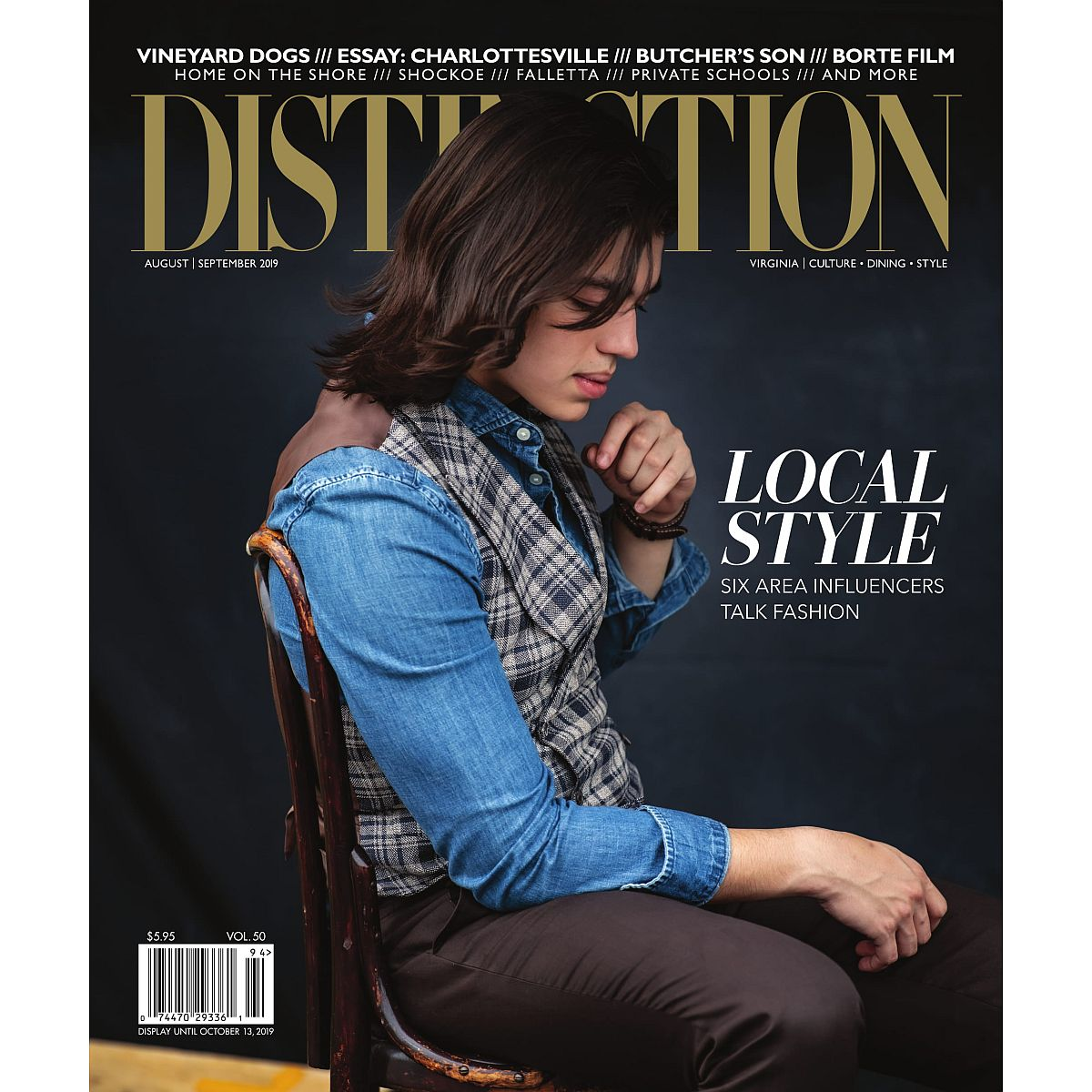 Distinction Magazine Back Issues