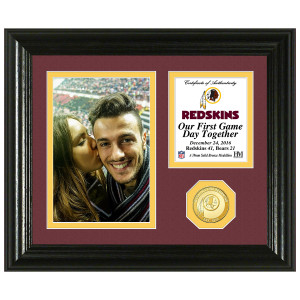 Washington Redskins Game Day Personalized Photo Frame