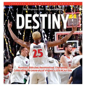 University of Virginia 2019 NCAA Championship Special Commemorative Section