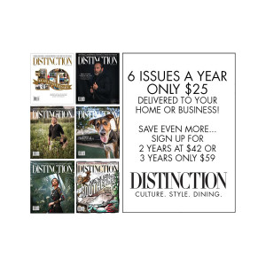 Distinction Magazine Subscription