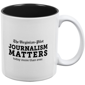 The Virginian-Pilot Journalism Matters Mug