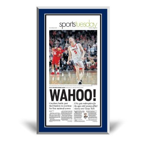 Virginia Cavaliers 2019 NCAA Championship Sports Page Plaque