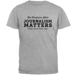The Virginian-Pilot Journalism Matters T-Shirt