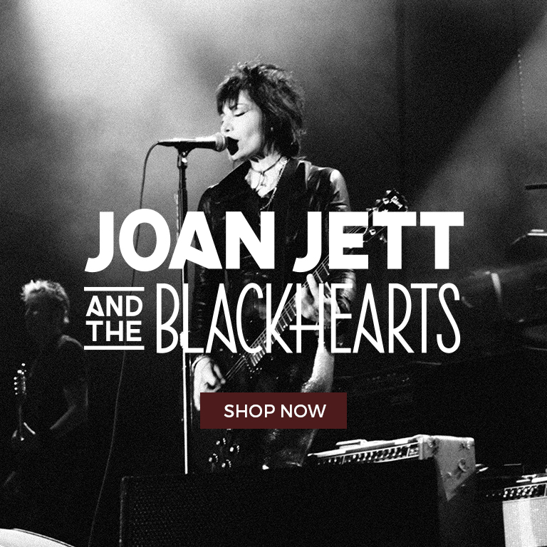 Shop Joan Jett and the Blackhearts Merch Now!