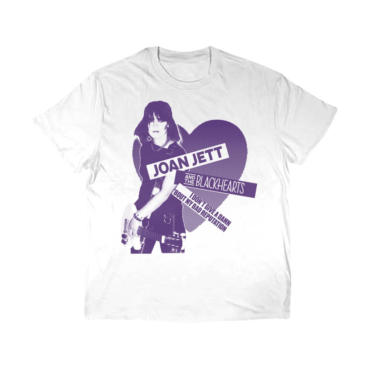 Bad Rep Purple Imagery White T-Shirt