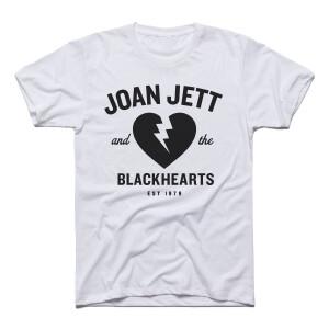 Joan Jett and the Blackhearts Lightning Heart White T-Shirt