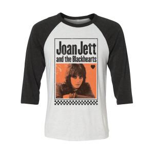Joan Jett and the Blackhearts Harley Raglan
