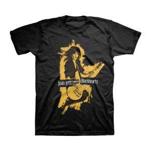 Joan Jett - Black Silhouette T-shirt