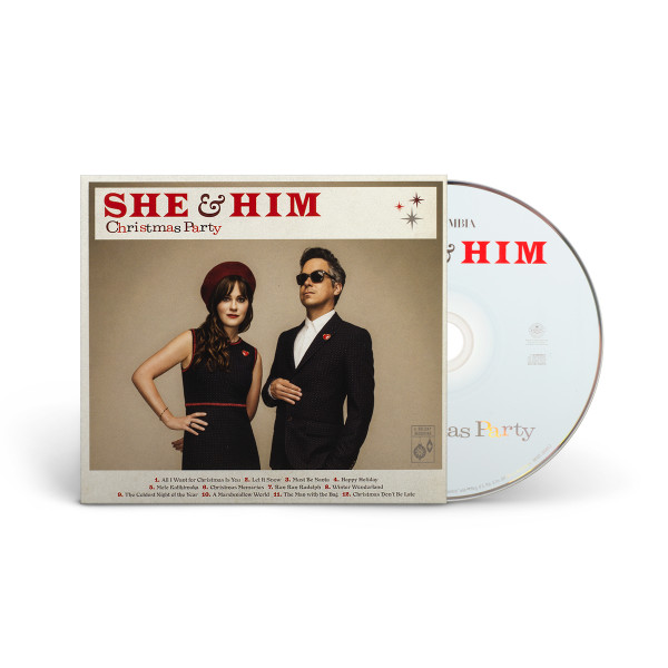 She And Him Christmas.Christmas Party Cd Shop The She And Him Official Store