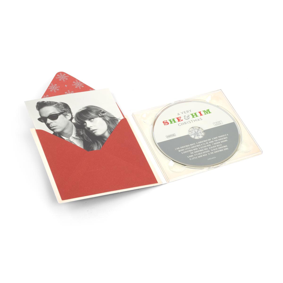 A Very She & Him Christmas CD