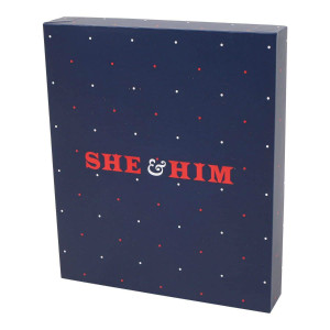 She & Him 4-Piece Cookie Cutter Set