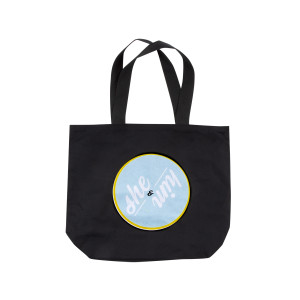 CIRCLE TOTE BAG BL