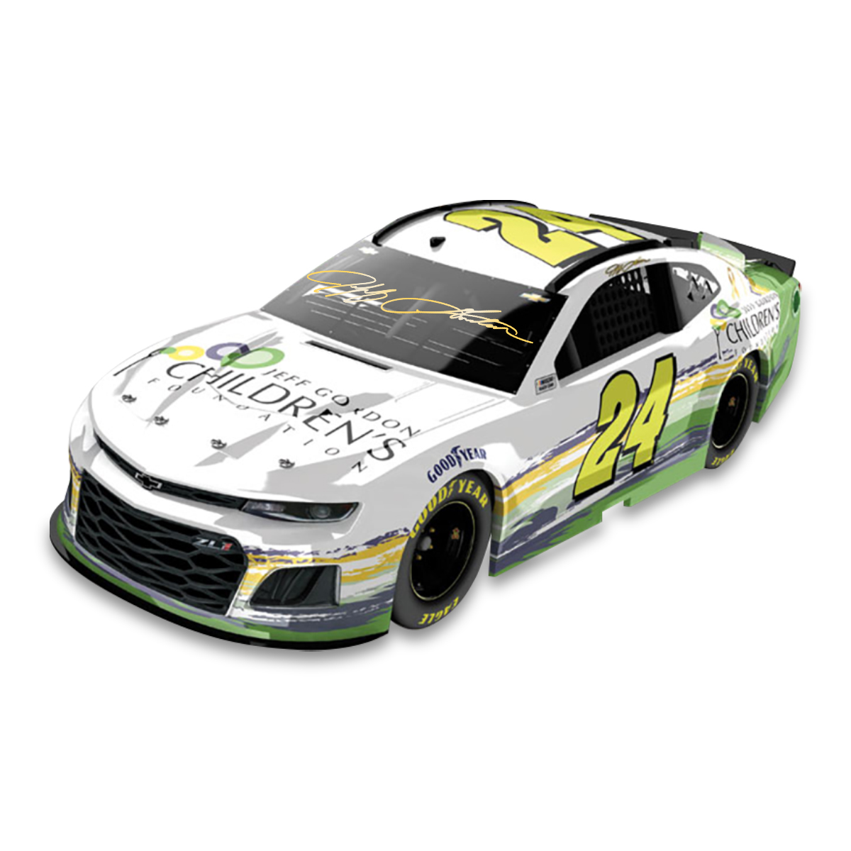 2019 Chevrolet Camaro Zl1: Autographed Jeff Gordon Children's Foundation 2019