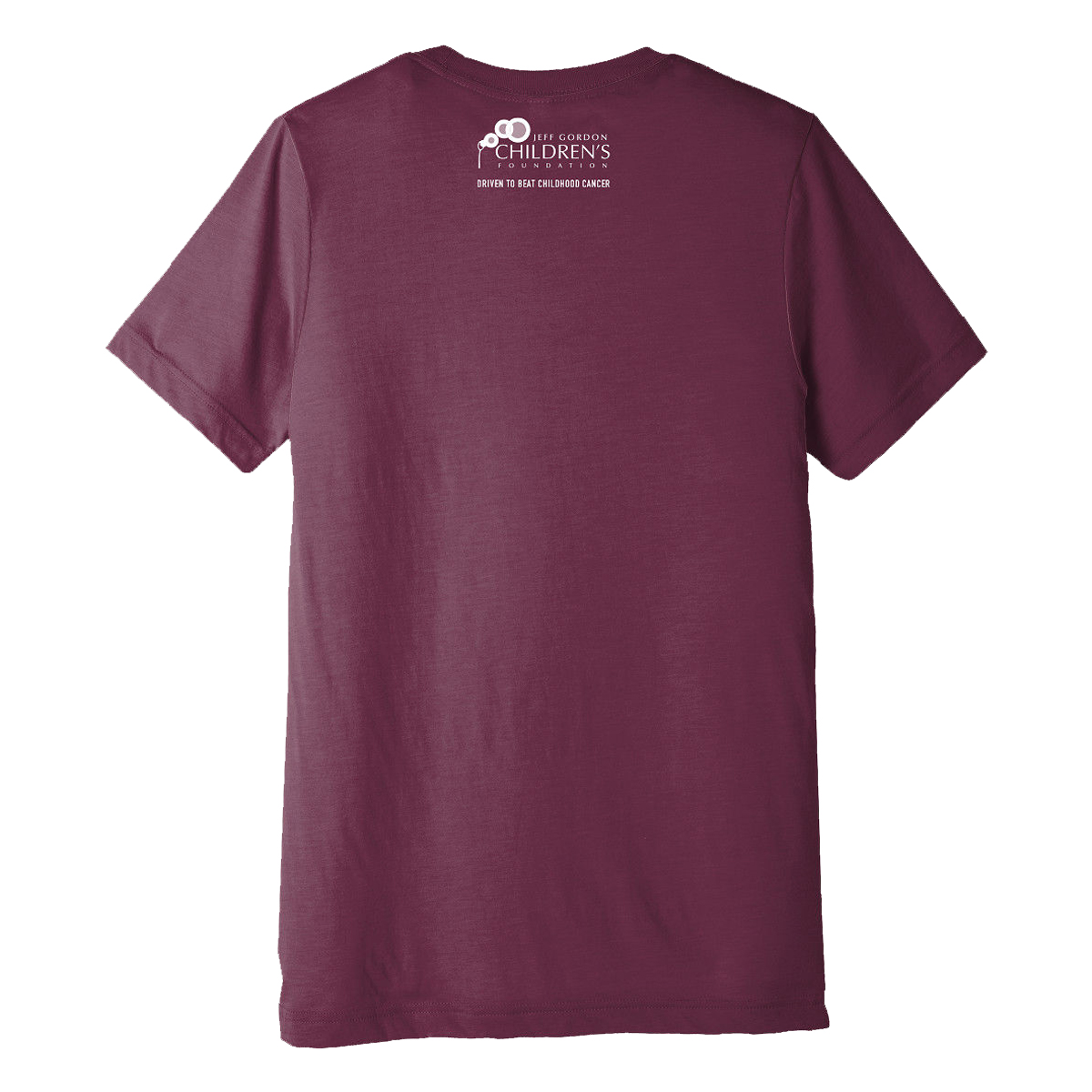 JGCF Charlotte Skyline Car Burnout Maroon T-Shirt
