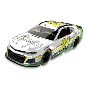 Autographed Jeff Gordon Children's Foundation 2019 Chevrolet Camaro ZL1 1:24 Scale ARC Die Cast