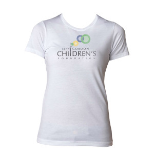 JGCF Ladies' Logo T-Shirt - White