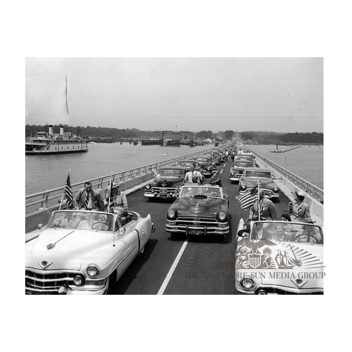Bay Bridge Opening (1952)