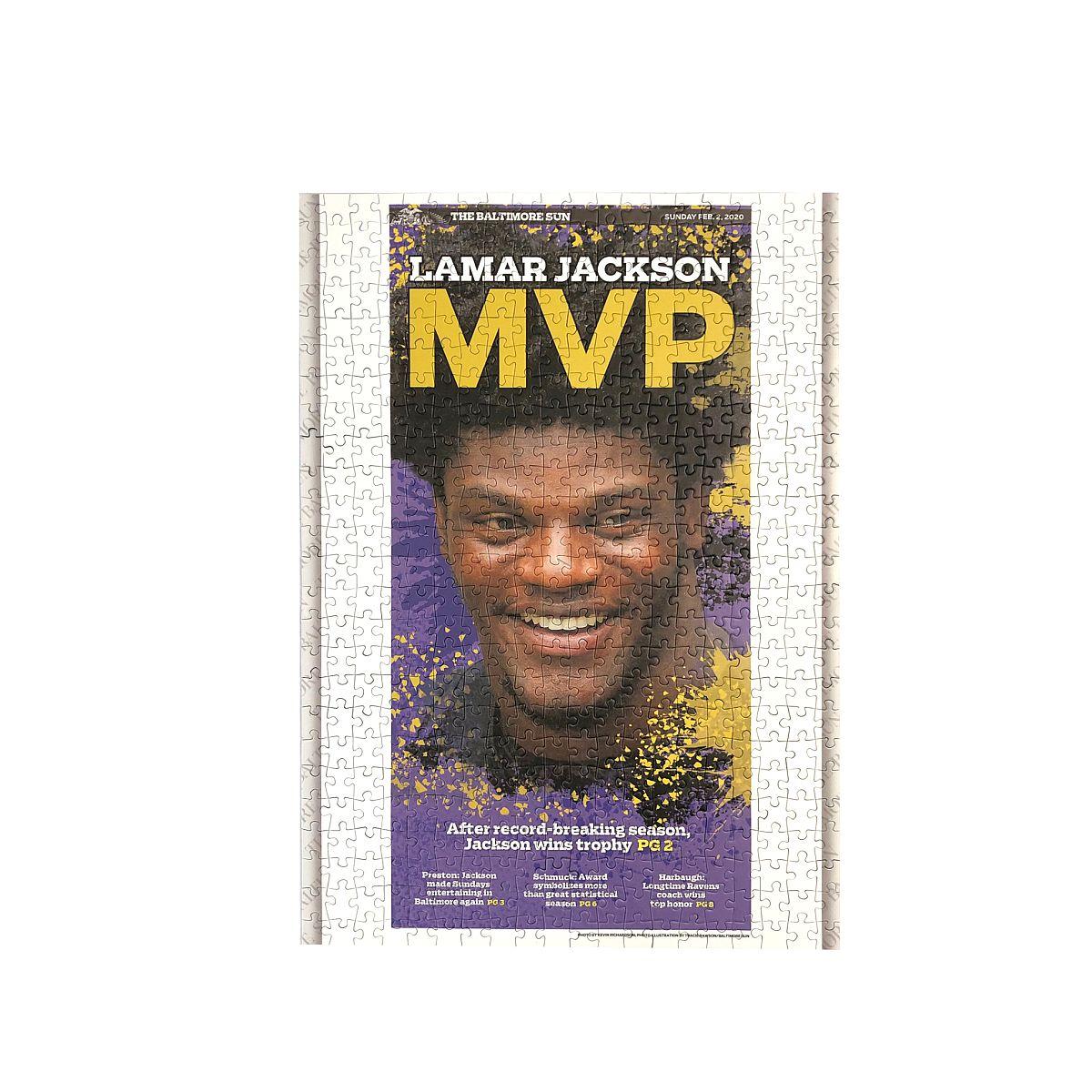 Lamar Jackson MVP Jigsaw Puzzle