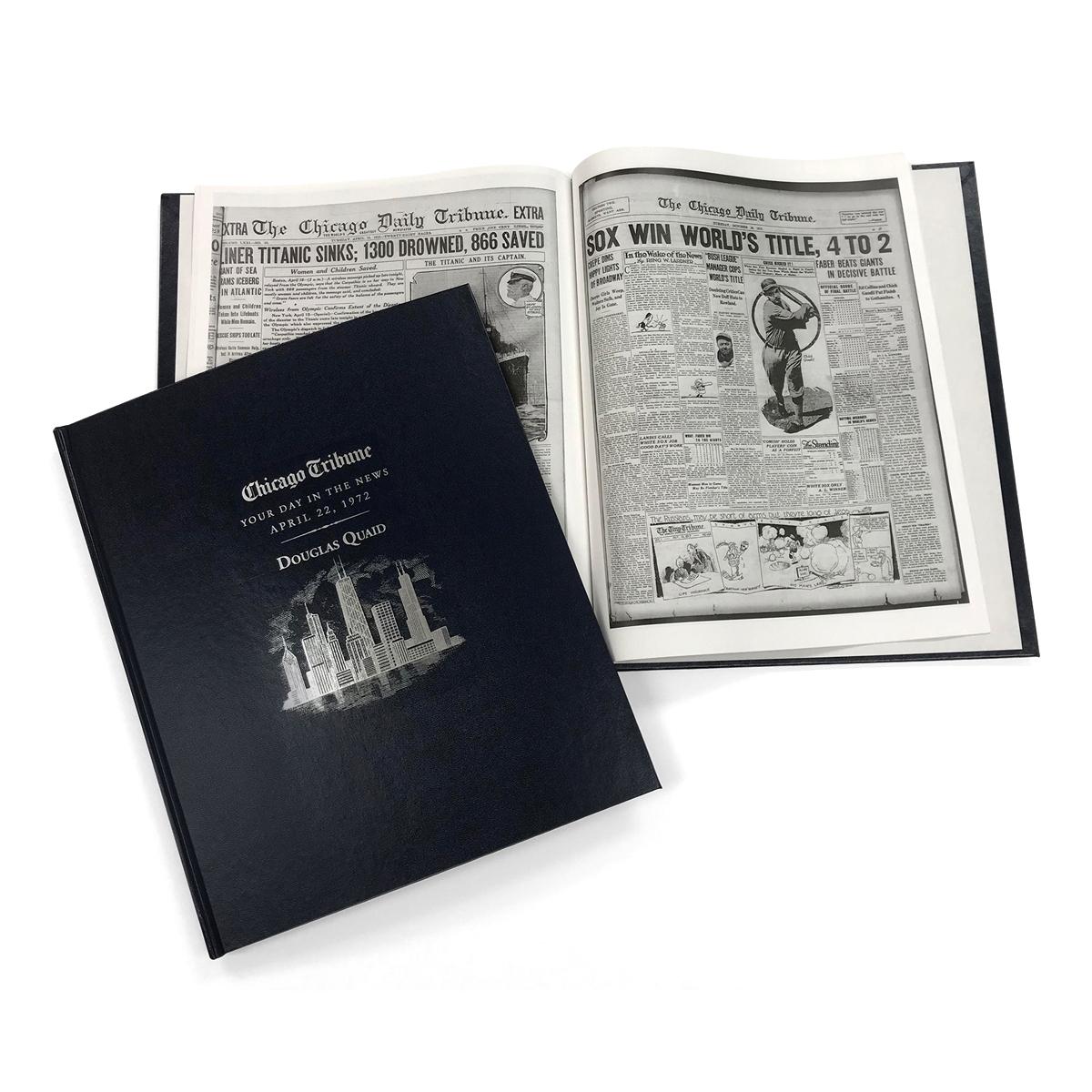 Chicago Tribune Birthday Book
