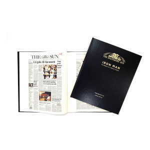 """Iron Man: Cal Ripken Jr.'s Historic Career"" Newspaper Book - Personalized"