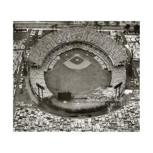Aerial Memorial Stadium All-Star Game (1958)