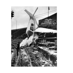 Memorial Stadium Plane Crash (1976)